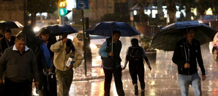 Alertas Naranja y Amarilla, por lluvias, en CDMX