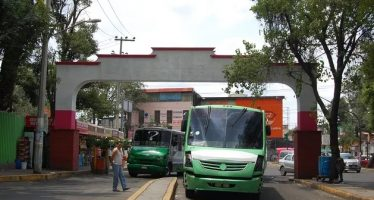 Reordenamiento transporte público en Xochimilco