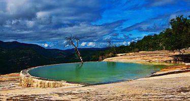 Hierve el Agua, un complejo sistema prehispánico de irrigación