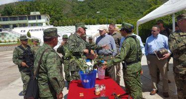 Secretarios de Defensa y Marina se reúnen con Kelly