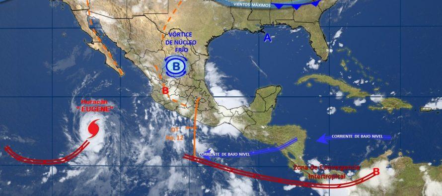 Huracán Eugene alcanza categoría 2; está lejos de México