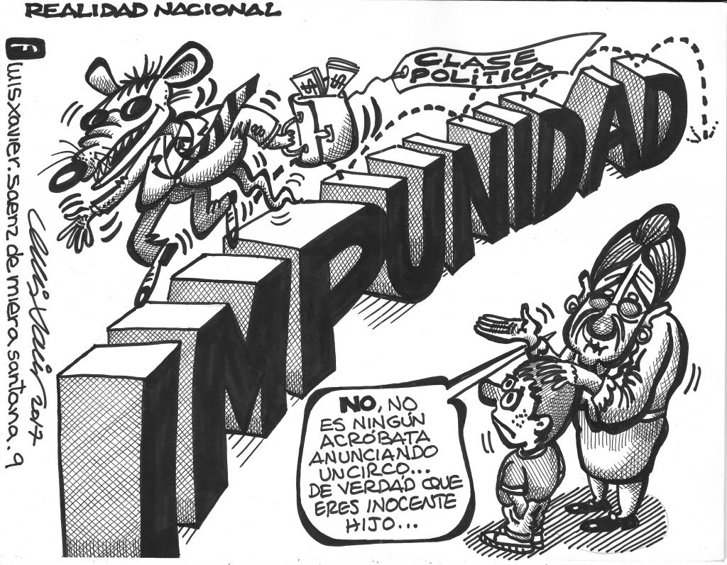 Impunidad. Luis Xavier
