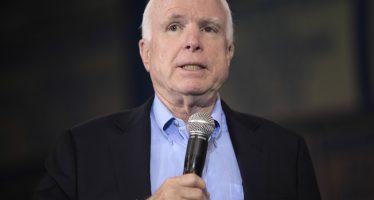 Confirman cáncer de Cerebro a John McCain