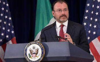 Espionaje fuera de la ley, inaceptable: Videgaray