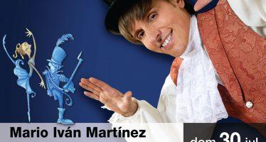 Conferencia de Prensa: Mario Iván Martínez celebra 20 años de soñar despierto