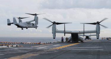 EEUU, la India y Japón inician maniobras navales conjuntas