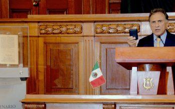 PGR acepta a Yunes como testigo en proceso a Duarte