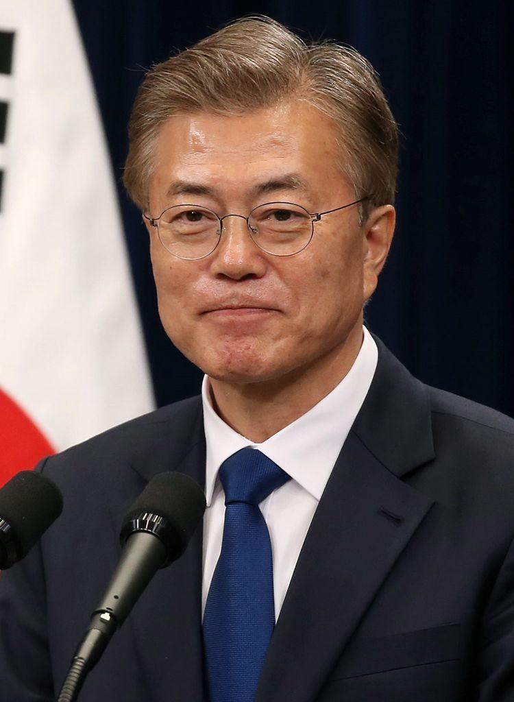 Presidente de Corea del Sur, Moon Jae-in. (Foto: Wikipedia)