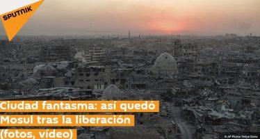 Ciudad fantasma: así quedó Mosul tras la liberación