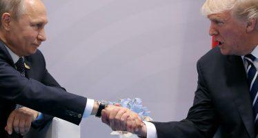 """""""Tremenda"""", la reunión con Putin: Trump"""