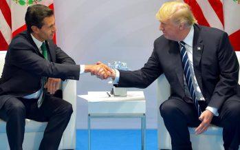 Peña y Trump hablan de migración, seguridad y TLCAN
