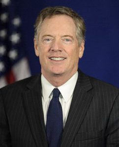 Robert Lighthizer. Foto: Wikimedia Commons