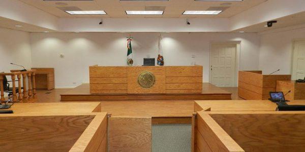 Sala de Juicio Oral. Foto de UNAM
