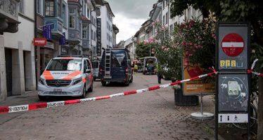 Hombre hiere a 5 personas con una motosierra, en Suiza