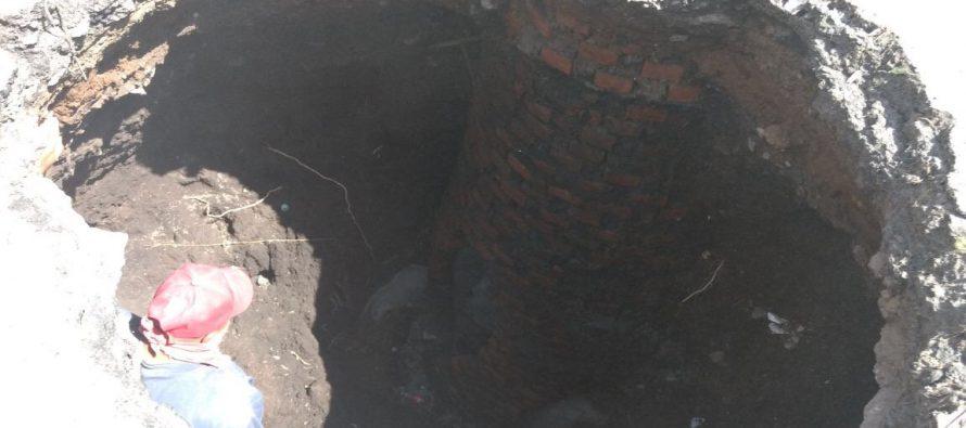 Ahora, otro socavón en Ecatepec; saldo blanco