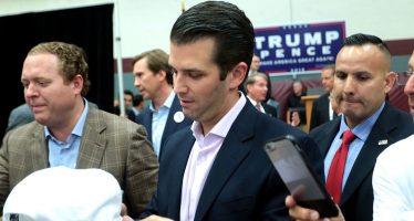 """Donald Trump: """"Aplaudo la transparencia de mi hijo"""""""