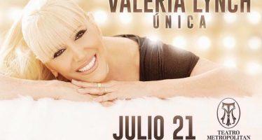El Teatro Metropólitan recibirá mañana a Valeria Lynch