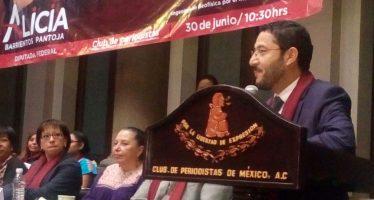 """Morena realizó su """"Encuentro de mujeres contra los feminicidios"""""""