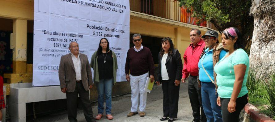 Xochimilco da mantenimiento a escuelas de la demarcación