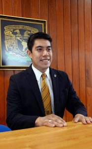 Yair Piña. Foto de UNAM