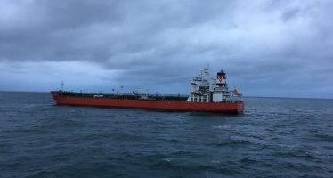 Barco petrolero y navío carguero chocan en aguas de Pas-de-Calais