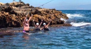 Tres mexicanos cruzan a nado el Estrecho de Gibraltar