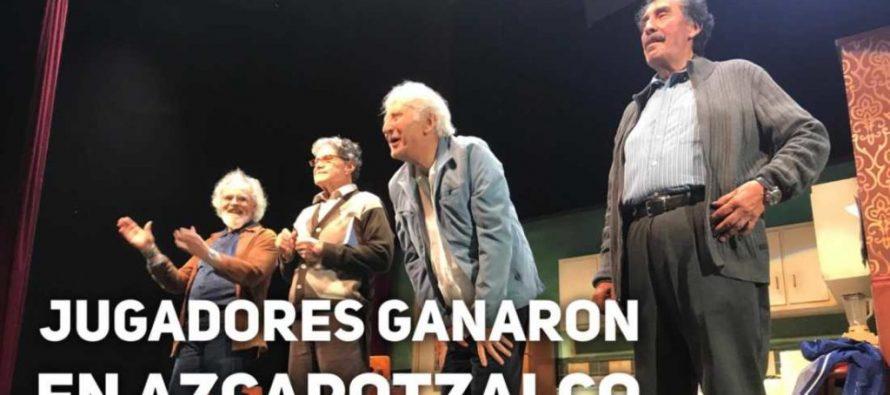 """""""Jugadores"""" deleitaron al público en el Foro Cultural Azcapotzalco"""