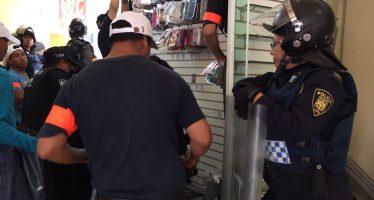 SSP aplica operativo contra venta de celulares robados en Eje Central