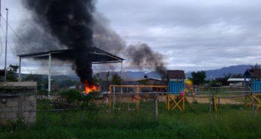 Enfrentamiento entre colonos e integrantes de la 14 de Junio