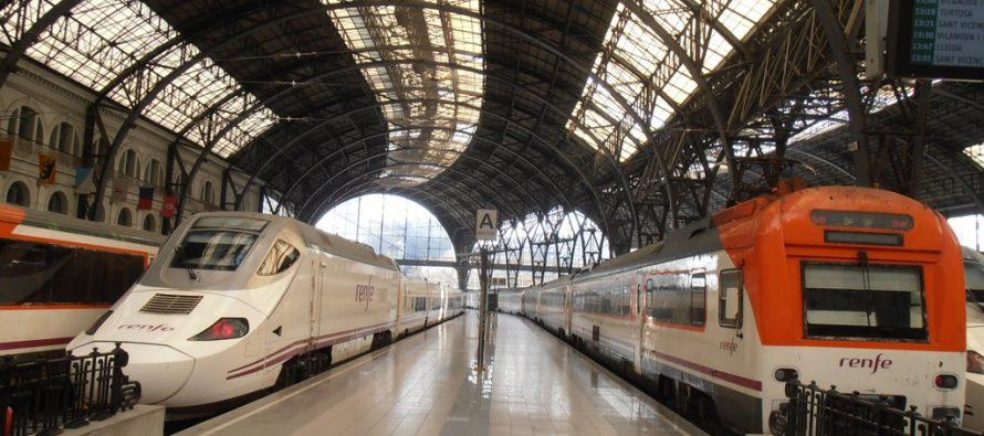 Accidente de tren en España deja unos 50 heridos