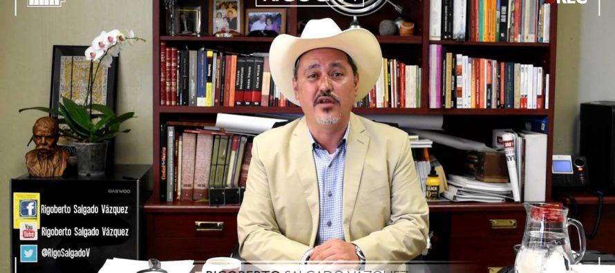 Cita la ALDF a Rigoberto Salgado el próximo miércoles