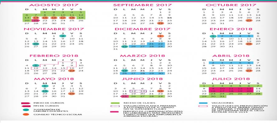 Calendario escolar prevé más días de capacitación para maestros