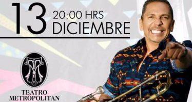 Alberto Barros se presentará en el Teatro Metropólitan