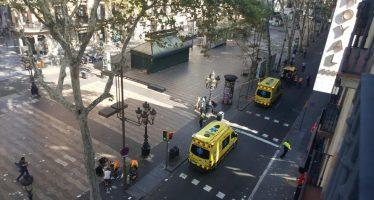 Deja 13 muertos y 50 heridos, atentado en Barcelona