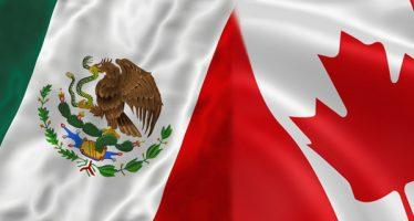 Encuentro México-Canadá un día antes de renegociar el TLCAN