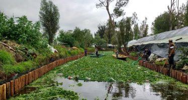 Inicia el rescate integral del Canal de Apatlaco, en Xochimilco
