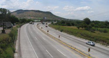 Cierre parcial en el kilómetro 98 de autopista México-Querétaro