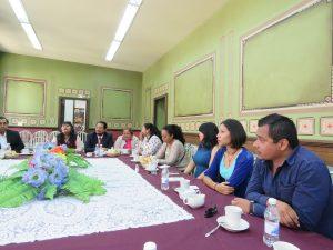 Colegas de Veracruz. Foto de Rubén Samperio