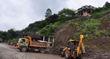 Deslizamiento de tierra en China deja siete muertos y dos heridos