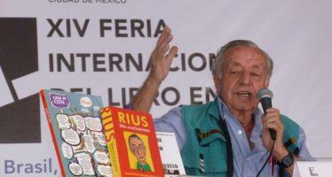 Peña Nieto destaca labor del caricaturista Eduardo del Río