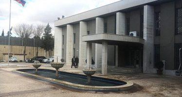 Atacan con morteros embajada rusa en Siria; no hay lesionados