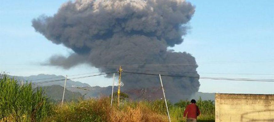 Explota ducto de Pemex en Zapoapan, Veracruz; hay un muerto