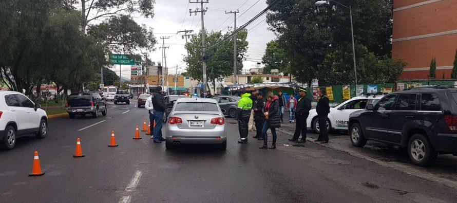Megaoperativo policíaco en Tlalnepantla deja 27 detenidos