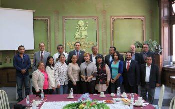 Subdelegación de Minatitlán visita el Club de Periodistas de México