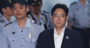 Cinco años de cárcel a heredero de Samsung, por soborno