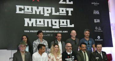 """Con elenco de primera, """"El complot mongol"""" llegará a los cines en 2018"""