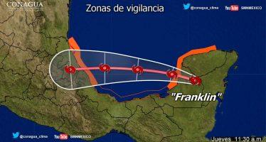 Continúa alerta roja en Veracruz tras paso de Franklin