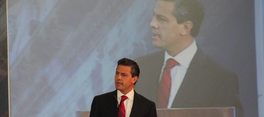 Estamos transformando a México con mejor infraestructura Peña Nieto