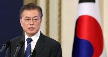 Promete presidente surcoreano evitar otra guerra con Norcorea