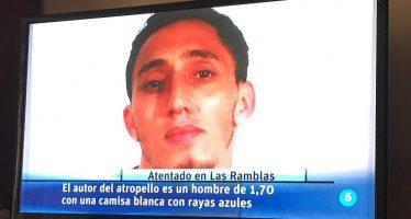 Difunden foto de presunto autor del ataque terrorista en Barcelona